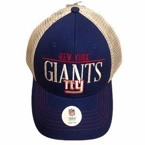 NFL New York Giants Mens Baseball Cap Trucker Hat